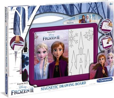 Clementoni- Ardoise Magique-Disney La Reine des Neiges 2